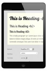 500+ Google Web Fonts