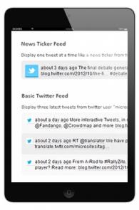 Twitter Feeds