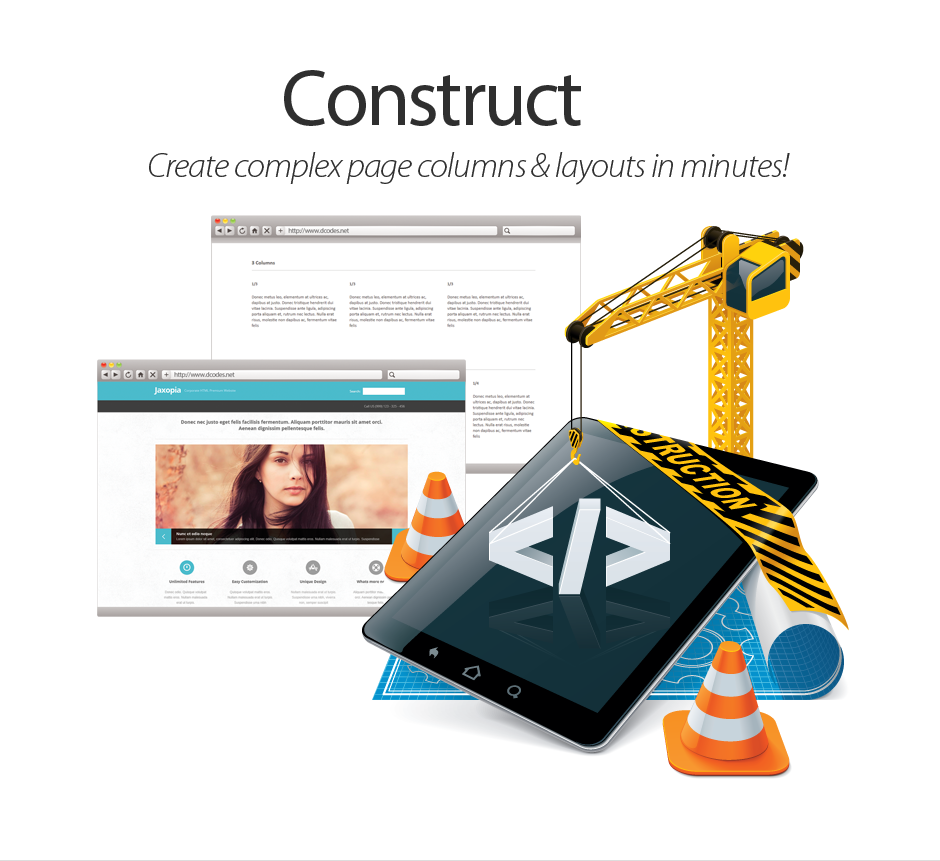 Construct Complex Pages
